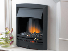 Flamerite Cascade Black Inset Electric Fire