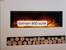 NEW Flamerite Gotham 900 Electric Suite