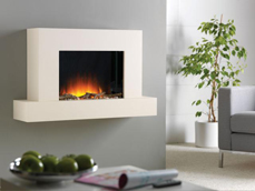 Flamerite Fires Jaeger hang on wall electric fire