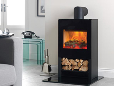 Flamerite Fires Apollo Tall Electric Stove