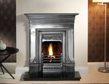 Gallery Collection Edinburgh full polished cast fireplace
