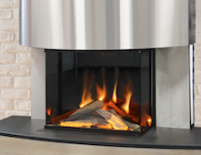 NEW Evonic Sigma electric fireplace suite