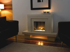 Flamerite Fires Lazio Electric fireplace