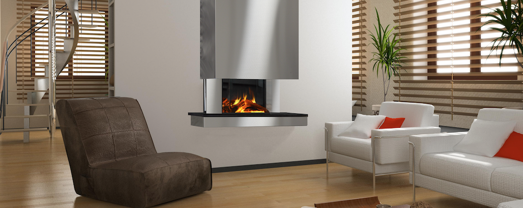 Evonic Asterix electric fire suite