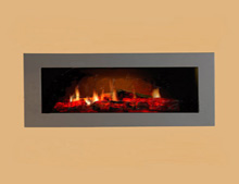 NEW Dimplex Opti V PGF-10 Hole in the wall electric fire